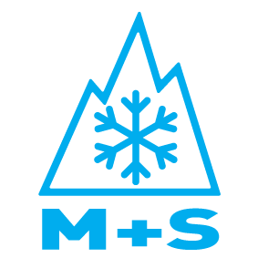 mountain snowflake symbol for severe weather tires mud and snow