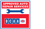 BCAA Approved Auto Repair Service Centre logo