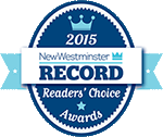 Readers Choice 2015 award logo - by the NW Record newspaper