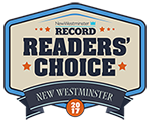 Readers Choice 2016 award logo - by the NW Record newspaper